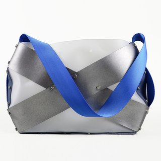 bolts & nuts architectual Jumbo X  shoulder bag (hong kong design)