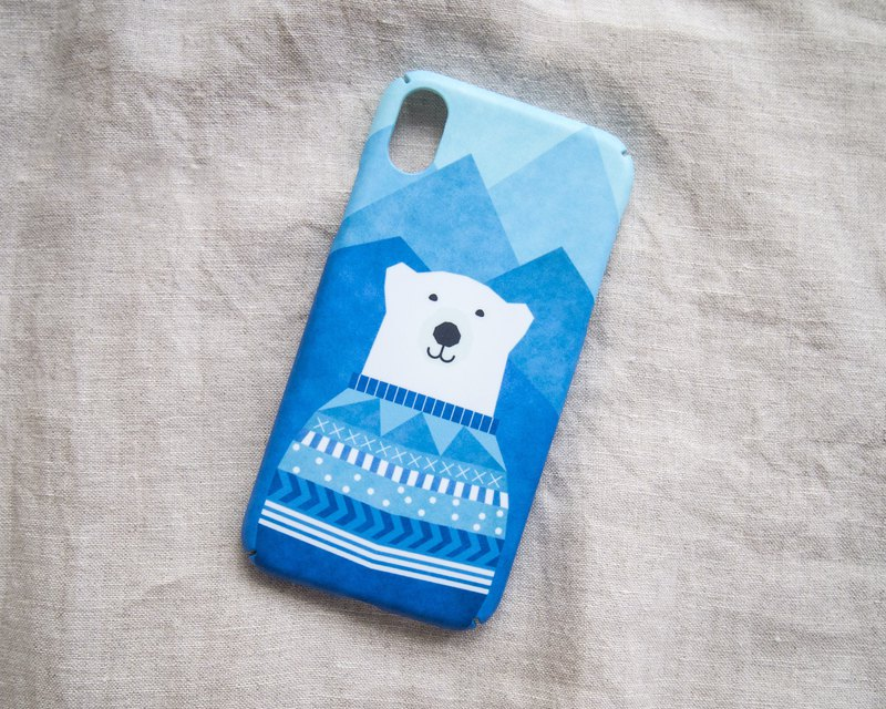 Polar Bear iPhone case / Samsung Galaxy case 手機殼