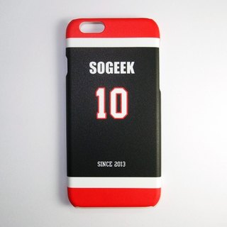 SO GEEK phone shell design brand THE JERSEY GEEK jersey back number Customized paragraph 029