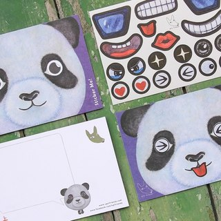 Sticker Me! Music stickers friends! _ Panda