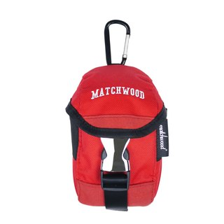 Matchwood design Matchwood Flash 600D waterproof phone pockets waist pocket with climbing hook red iphone5/6 can be placed