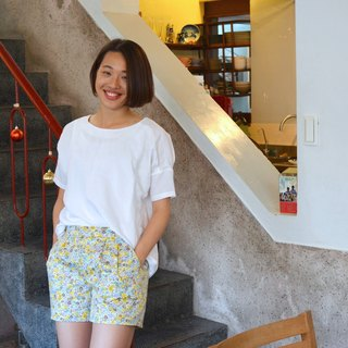 ❀ ❀ flower flower flower pleated shorts