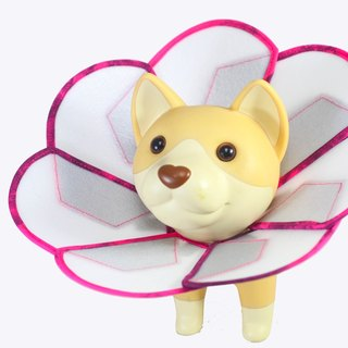Petals Flowers pet anti-licking medical headgear [board] (Size L)**Taiwan's new patented design**