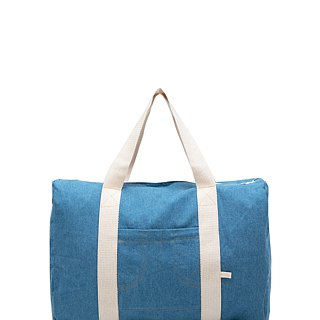 POWDER BLUE DUFFLE BAG