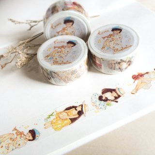 Music Girls Masking-tape