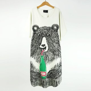 Urb black bear soda more wear canvas clothing