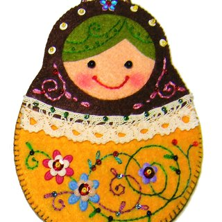 Russian doll card sets # 018