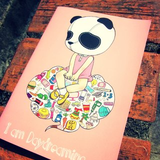 My Daydream Workshop A5 sketchbook blank notebook portable notepad graffiti sketch