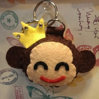 """Christmas presents"" chirp microphone key ring - Monkey (light pressure may sound)"