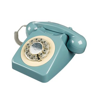 SUSS-UK imports 1950s 746 series retro classic phone / industrial style (French blue)