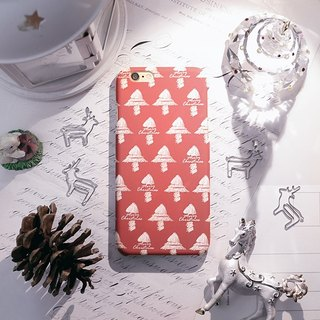 iPhone6 ​​Plus/Mobile Shell/Hard Shell/Happy Christmas Tree/Gift