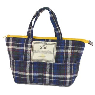 [DESTINO STYLE] Japan 256 Classic Check textured lunch bag