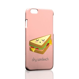 Shy sandwiches pattern custom Samsung S5 S6 S7 note4 note5 iPhone 5 5s 6 6s 6 plus 7 7 plus ASUS HTC m9 Sony LG g4 g5 v10 phone shell mobile phone sets phone shell phonecase