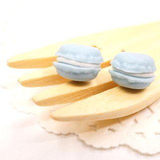 *Playful Design*  Mint Flavour Mini Macaron Earrings
