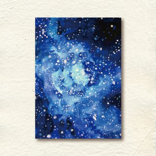 Blooming Star Sky Starry Night Postcards