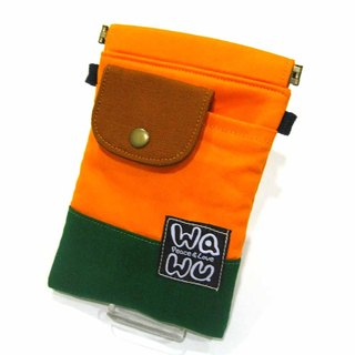 WaWu Handbag/Pants Head Bag (Primary School Yellow)