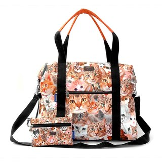 COPLAY  travel bag-cats