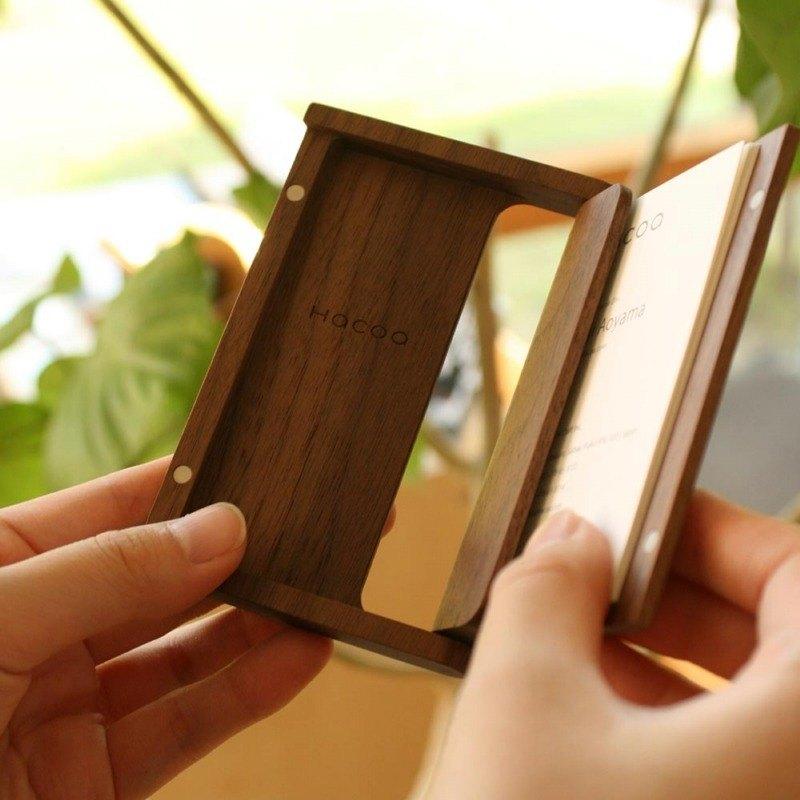 Wooden business card case designer hacoa pinkoi wooden business card case colourmoves