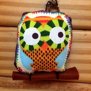 RABBIT LULU guardian owl Lu positive energy resolution color embroidered name