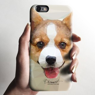 iPhone 6 case, iPhone 6 Plus case, Decouart original design S706 corgi