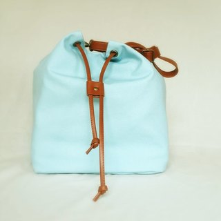 # 003 large canvas bucket bag, both sides can be back