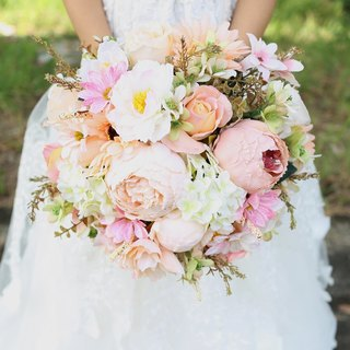 Wreaths Manor*wedding small objects*off * the development work overseas wedding bouquet selected - Pre ~ artificial flowers series ~~ NT $ 1780
