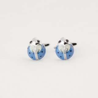 Insects - Blue Beetle Cufflinks LADYBIRD CUFFLINKS