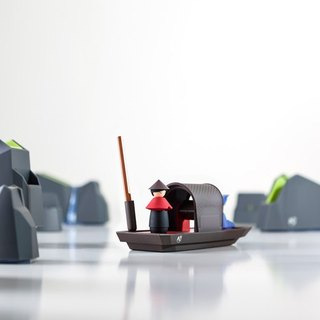 Small Row Boat Stationery Set