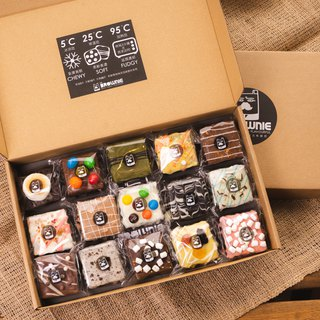 【mr.BROWNIE】Chef's Selection box - 15 Brownies