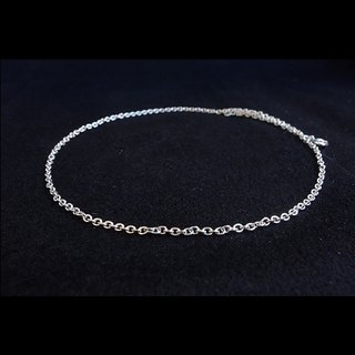 "- Sterling Silver Necklace - (16"", for pendants)"