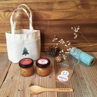 Period limit | Christmas exchange gift jam group x small tree 50g