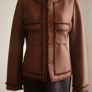 Small fragrant wind jacket - chocolate