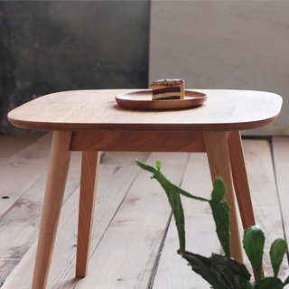Xi Shan Kobo - Walnut / Cherry - small square table, coffee table, side a few (coffee table)