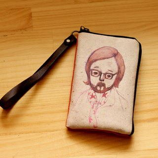 British uncle British Man ┇ illustration mobile phone bags ┇ l Phone 4/5