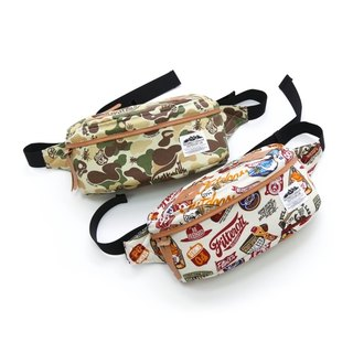 Filter017 - Waist Bag - Land of Camo Outdoor Graphics Pattern Fanny Pack Lost Place Camouflage - Ken pattern purses