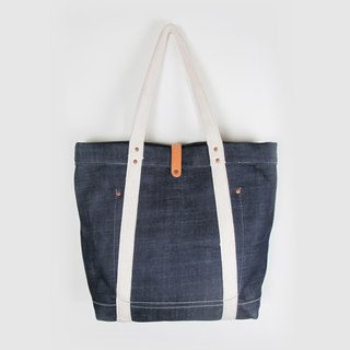 sample leather X ripples products :: thick denim leather shoulder bag handbag pounds