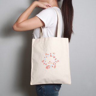 Hand-painted handprints Peibu lion bags [Christmas] one-sided pattern hand / shoulder
