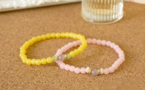 Light you up luminous series - Elegant Opal Bracelet