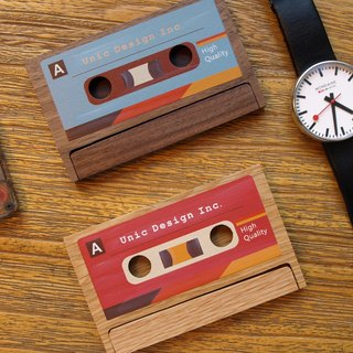 Unic Cassette Business Card Holder