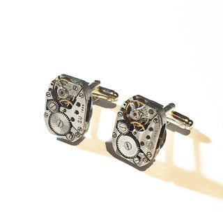 1960 Steampunk Steam Punk Cufflinks Pair