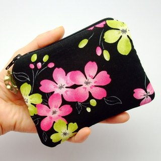 Zipper pouch / coin purse (padded) (ZS-37)