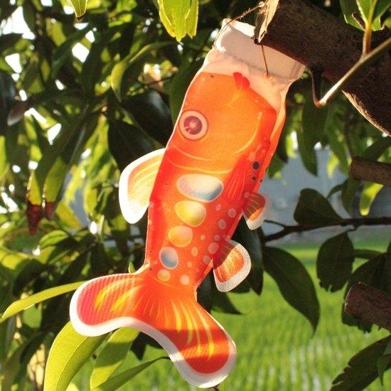 台灣鮭魚旗15CM (橘)