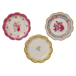 """Wonderful taste § paper plate"" British Talking Tables Party Supplies"