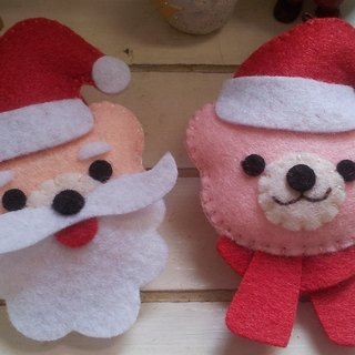 """Mini bear hand as"" Christmas QQ Bear Hair Accessories / Accessories / Pins"