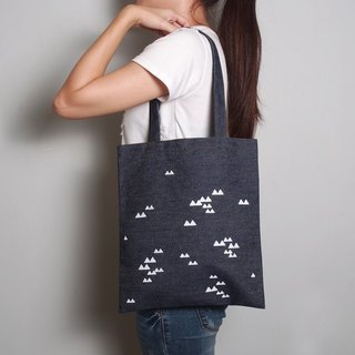 Hand-painted handprints tannins bag [Sam Rainsy] single / double shoulder