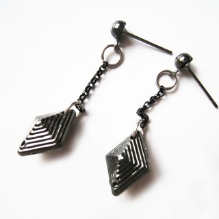 Time Travel【handmade earrings:Chain Killer】