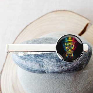 骷Cranium Head - Tie Clip / Tie / Boy Accessories Gift [Special U Design]
