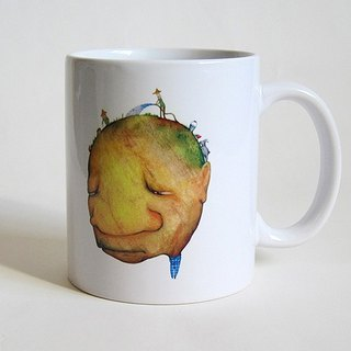 Mr. worried coffee cup / mug