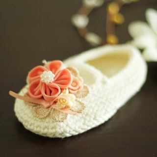 Handmade Hair Accessory and shoes set