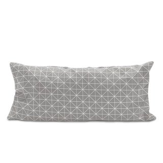 Geo Origami pillow gray S